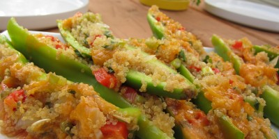 Quinoa Stuffed Chiles