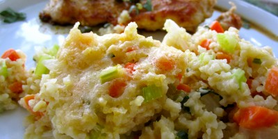 Baked Bulgur with Vegetables