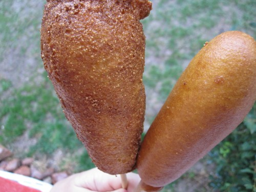 how to cook frozen corn dogs in the oven