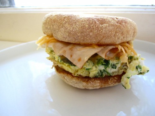 Frittata Breakfast Sandwiches « Cook it Fresh