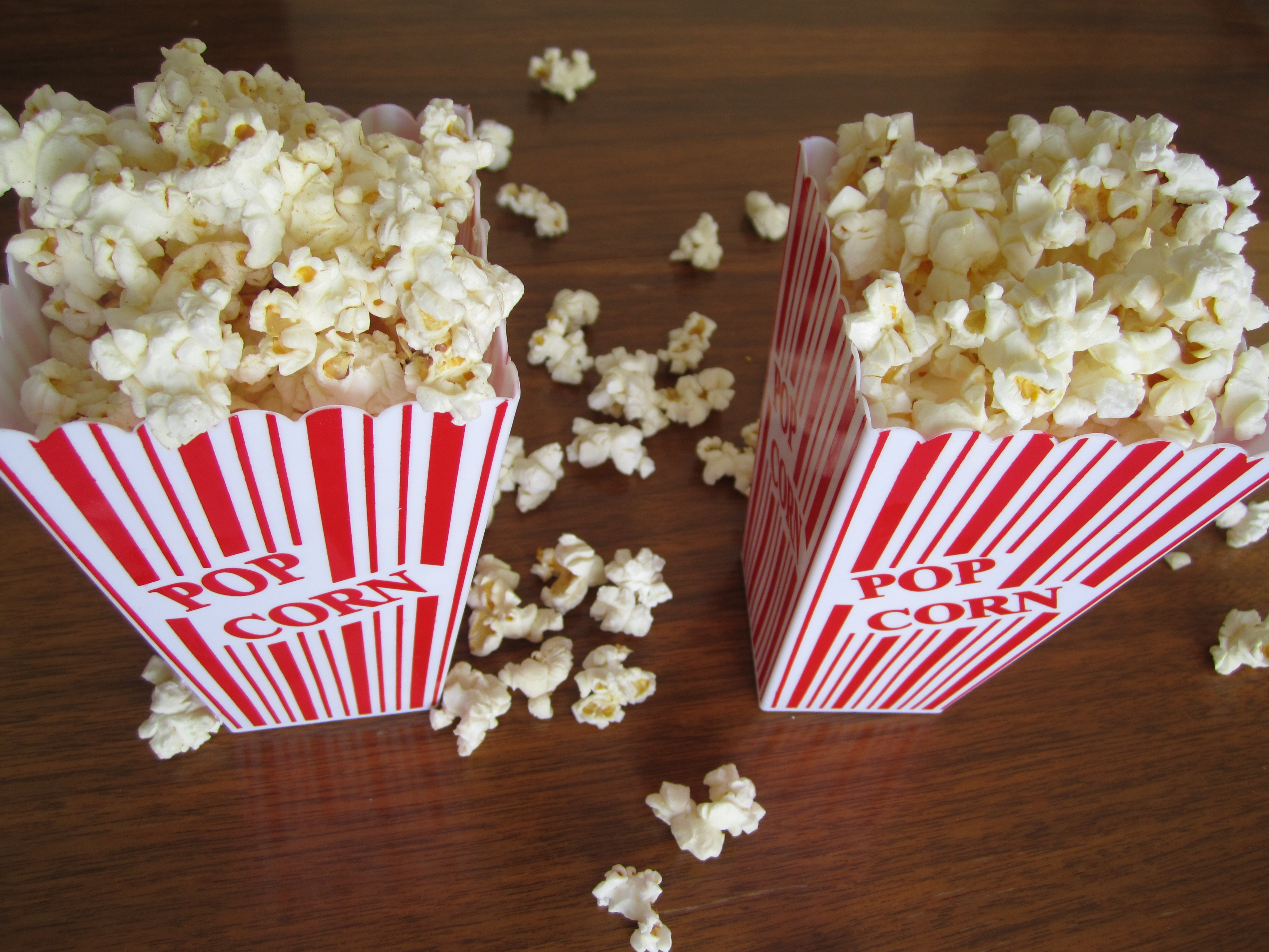 Microwave Popcorn » Homemade Microwave popcorn on the left, Orville ...