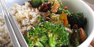 Cashew and Broccoli Stir-Fry