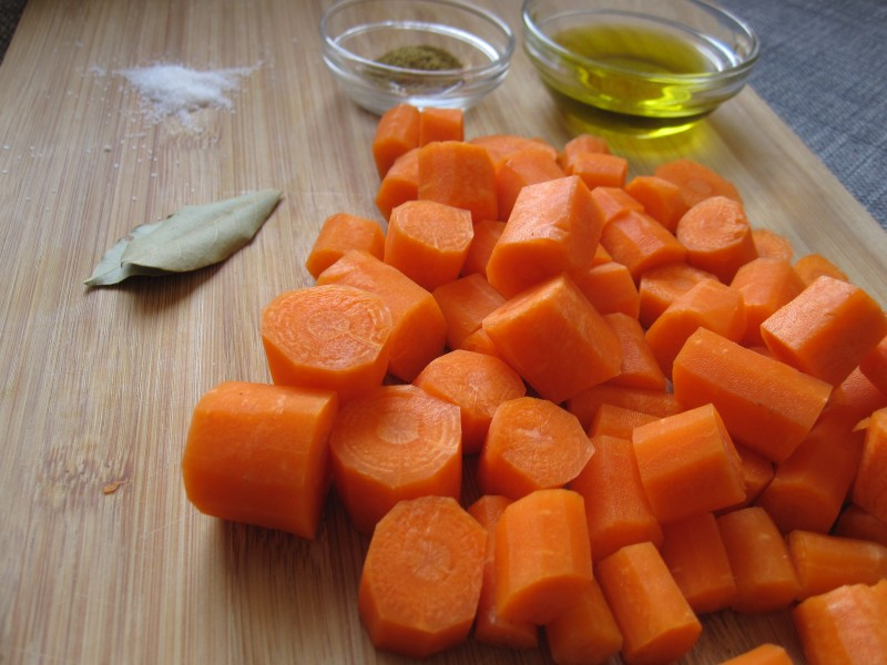 Ingredients for Roasted Carrot Soup