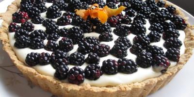 Late Summer Blackberry Tart