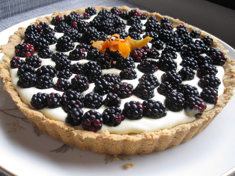 Late Summer Blackberry Tart