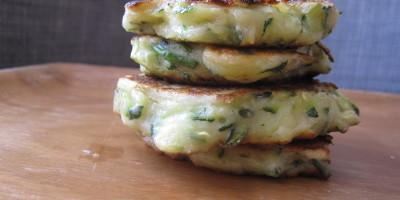 Buttermilk Parmesan Zucchini Fritters
