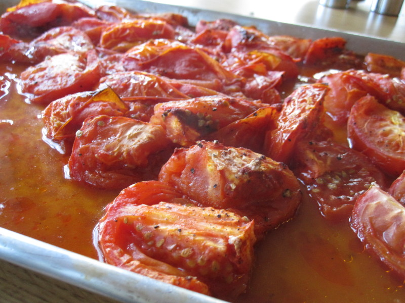 Paprika Roasted Tomatoes