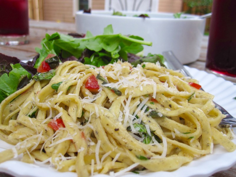 Fresh Tomato Basil Pasta - Cook It Fresh
